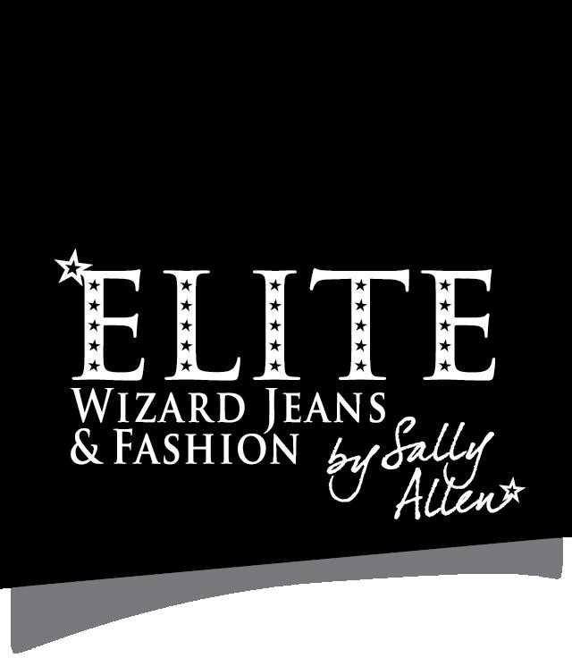 Wizard Jeans logo black