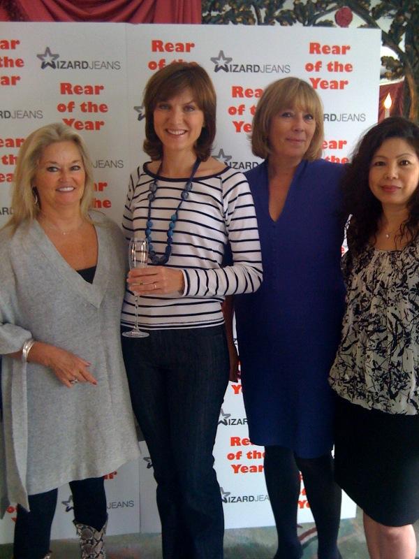 Sally Allen-Gerard, Fiona Bruce, Dee Carpenter & Lilian Cooper-Gold
