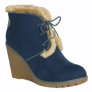 EMILY - PIXIE BOOTS BLUE