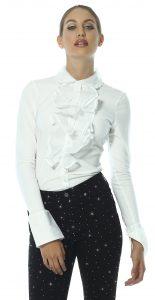 Florence Ruffle Shirt by Sally Allen