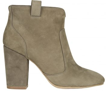 Livvy Goat Skin Ankle Boot