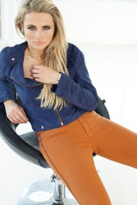 Sara Biker Jacket by Sally Allen
