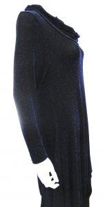 Lurex Cowl Neck Tunic